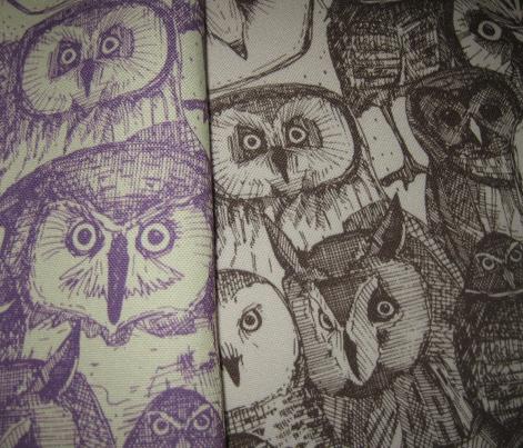 just owls purple cream
