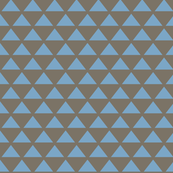 mocha blue triangles simple