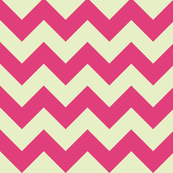 geo zoo chevron cream pink
