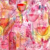Let's drink wine