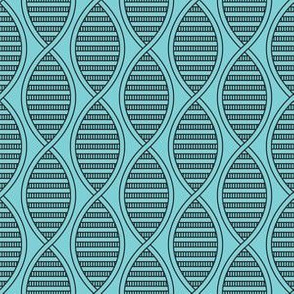 DNA Strands (Blue)