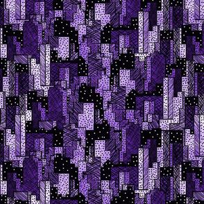 Linen City Purple