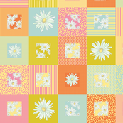 100 daisies - patterned