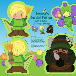 Filamena's Garden Fairies