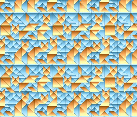 cubist catangrams