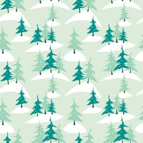 Alpine Tree Forest (Minty)