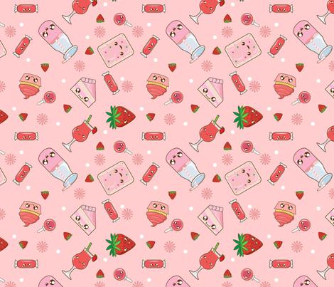 kawaii strawberry wallpaper vintage - photo #10