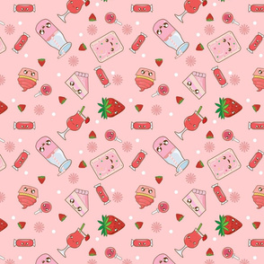 Kawaii Strawberry Bonanza