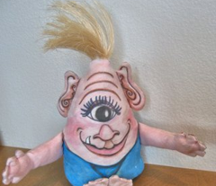 Ozzy the Baby Cyclops Plushie