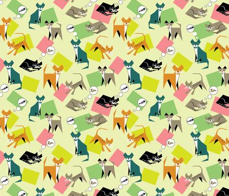 cubist cats 1
