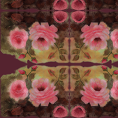 Roses in Burgundy