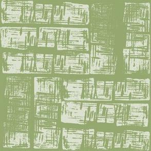 Haphazard - Olive green