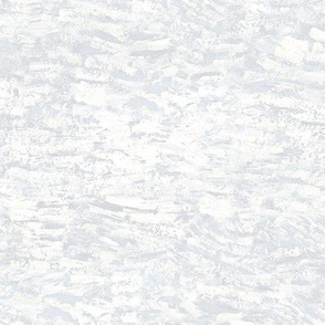paint daubs - white