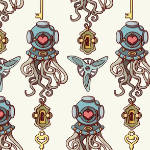 Octopuses in love coordinate
