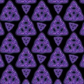 Purple Endless Triquetra