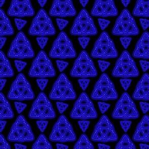 Electric Blue Triquetra