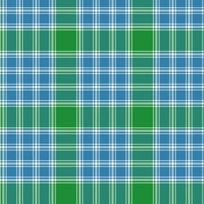 1/2 scale MacDonald Lord of the Isles blue-green tartan