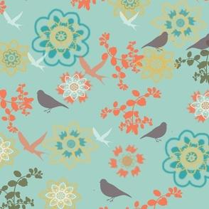 Songbirds Garden