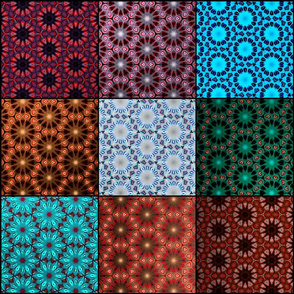 Quilted Fractals