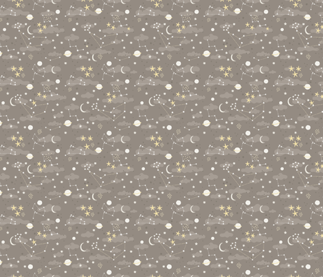 Cosmos fabric design space and stars wallpaper for Space pattern fabric