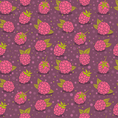 strawberry pattern