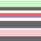 Garden Stripe (Pastel)