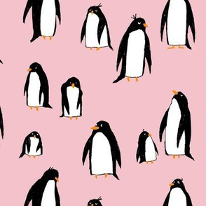 A Plethora of Penguins Pink (Large)