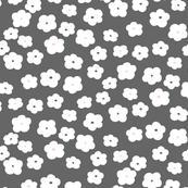 Mini Floral (Gray)