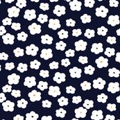 Mini Floral (Navy)