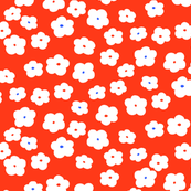 Mini Floral (Tangarine)