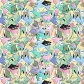 Cubist Cats 3