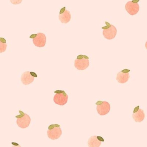 Sweet Peach Polka Dot, Salmon