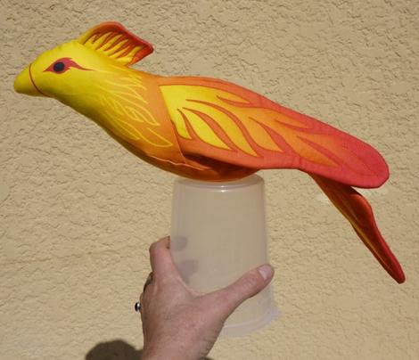 Phoenix Plushie Pattern