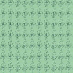 Flower gaze