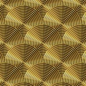 Metallic Gold discs