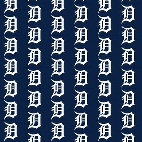 Old English D Detroit Navy Tigers