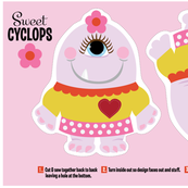 Sweet Cyclops Plushie