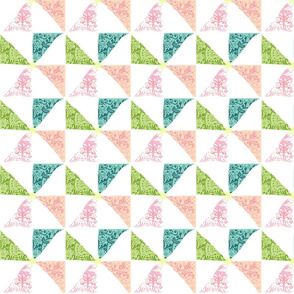 Island Pinwheels & Starfish- med