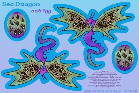 Sea Dragon and Egg
