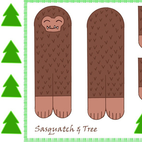 Sasquatch & Tree