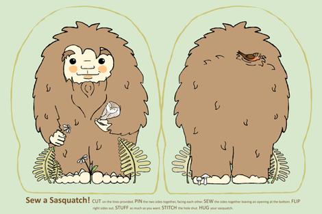 Sew a Sasquatch