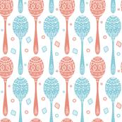 Doily spoons