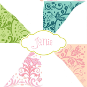Island Pinwheels - personalized petal