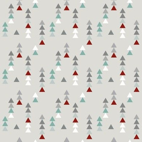 Woodland party triangles