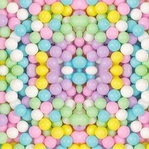 Pastel Gum Ball Kaleidoscope
