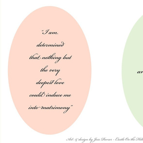 Pride and Prejudice Cushions