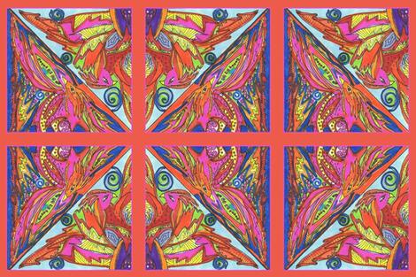 Mythical Phoenix Panel