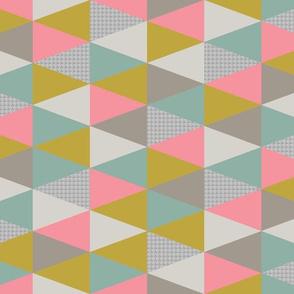 SMALL triangles neon
