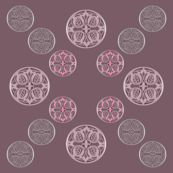 012 stamps dusty pink