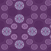012 stamps purple